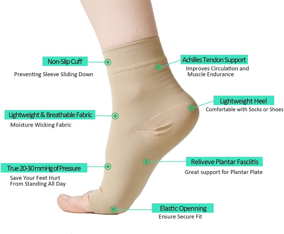 30 mmHg Foot Care Compression Sleeve