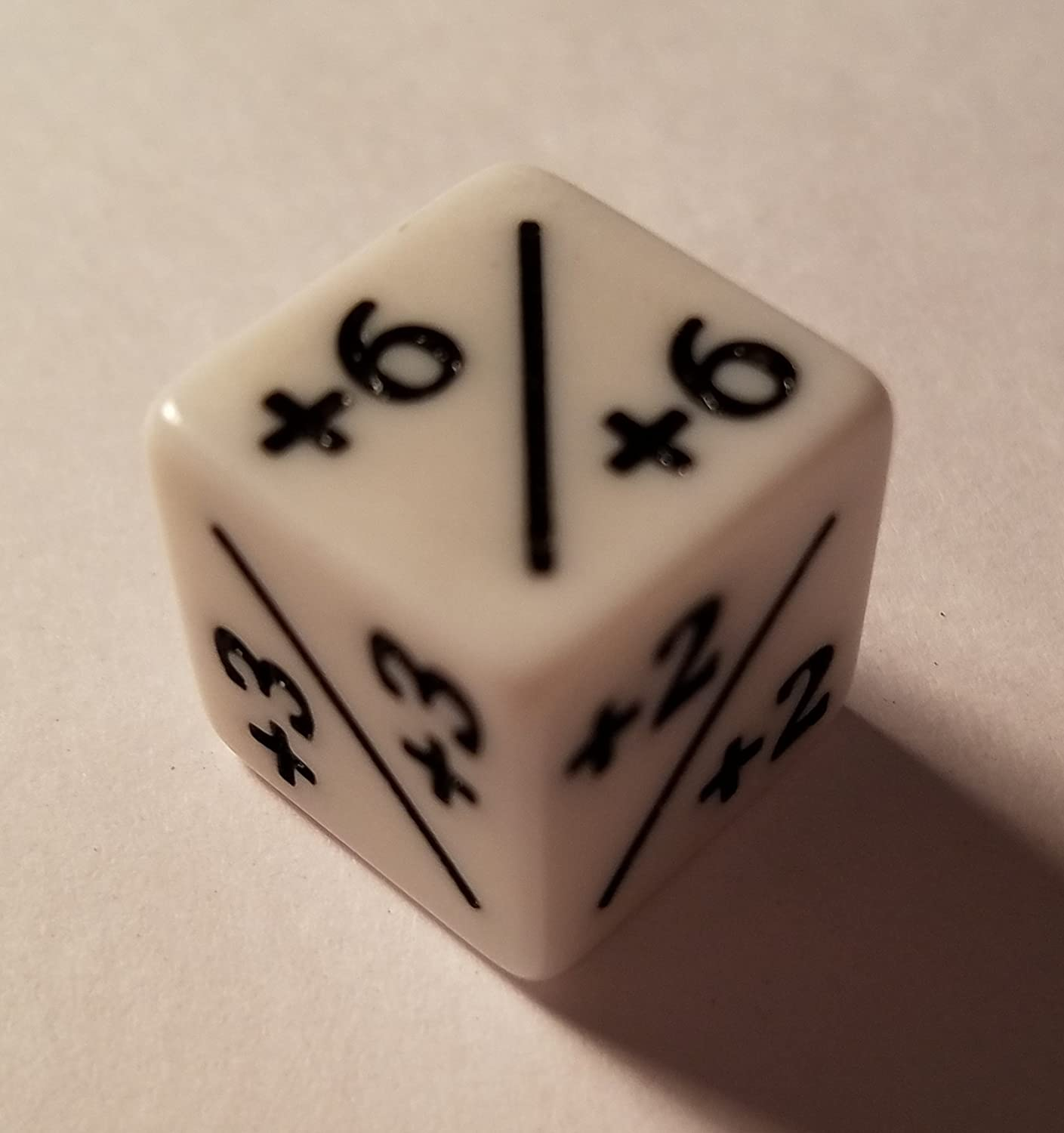 1//+1 for Magic The Gathering and other games CCG MTG by quEmpire 6x Dice Counters White