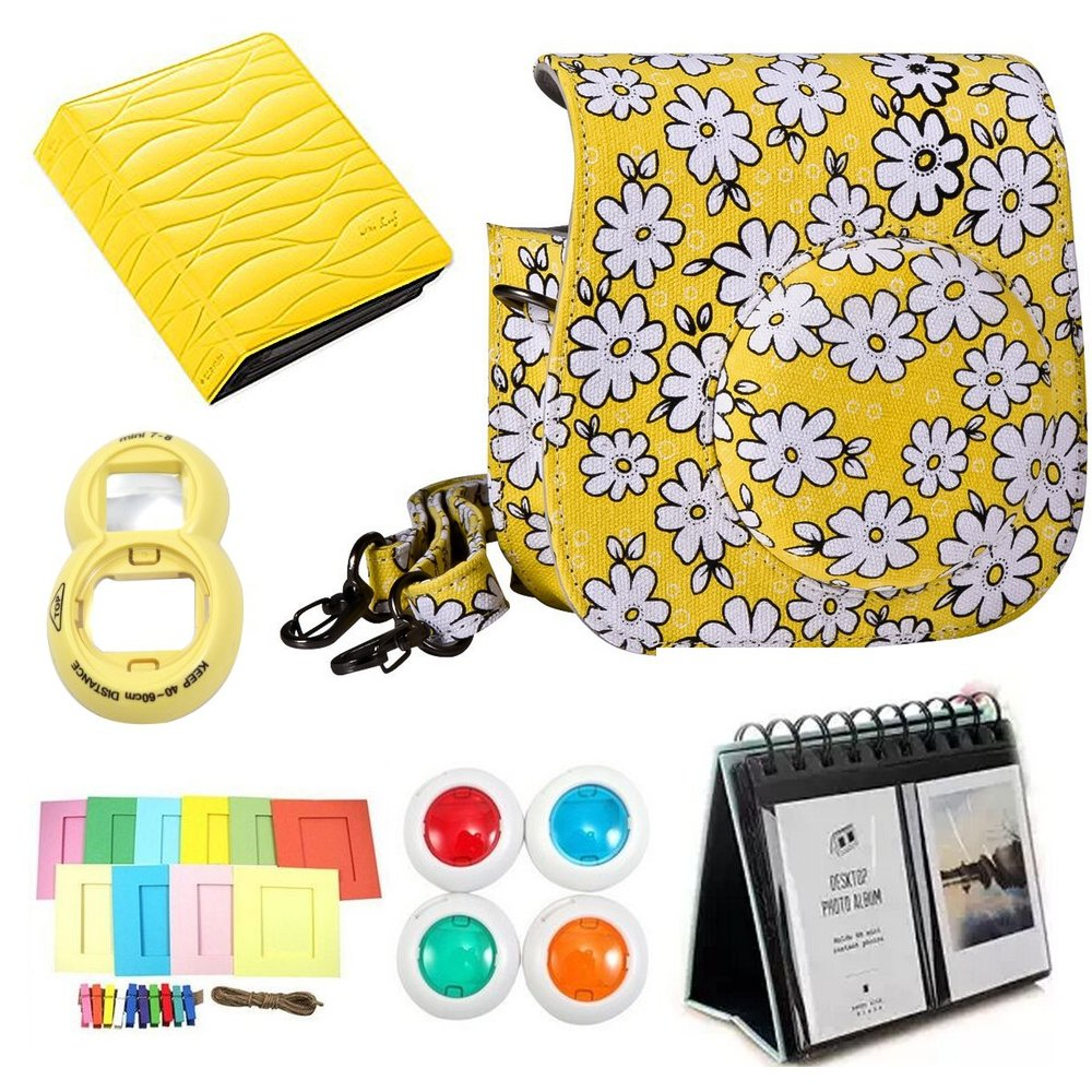 best CLOVER Accessory Bundles Set For Fujifilm Instax Mini 8 Instant ...
