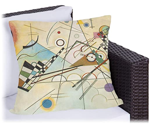 Kandinsky Composición 8 al aire libre almohada: Amazon.es ...