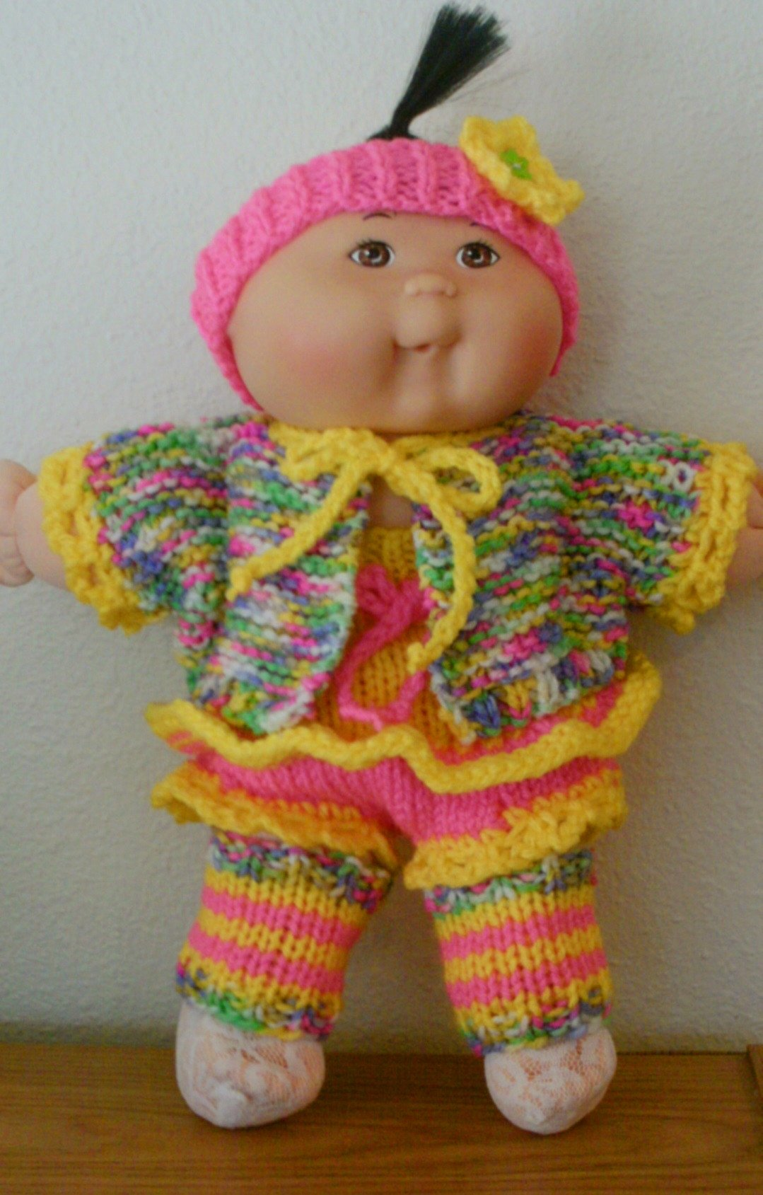 Treasury of Easy-to-Knit Doll Clothes Knitting Patterns for Cabbage ...