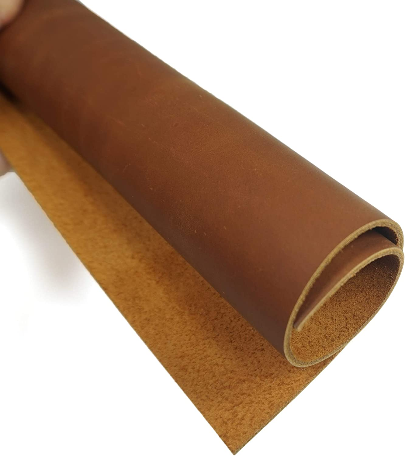 Thick Finished Full Grain Cow Hide Leather Heavy Weight Dark Brown, 10~13feet Square 10~13Square Feet 1//2 Half of A Whole Cowhide Leather for Tooling//Crafts 3.6mm-4.0mm 9-10oz