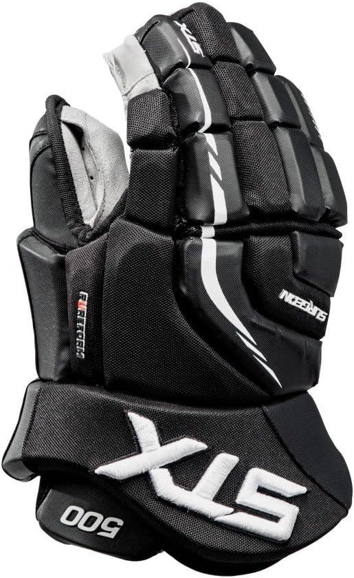 STX Surgeon 500 Senior Ice Hockey Gloves ブラック/ブラック 13\