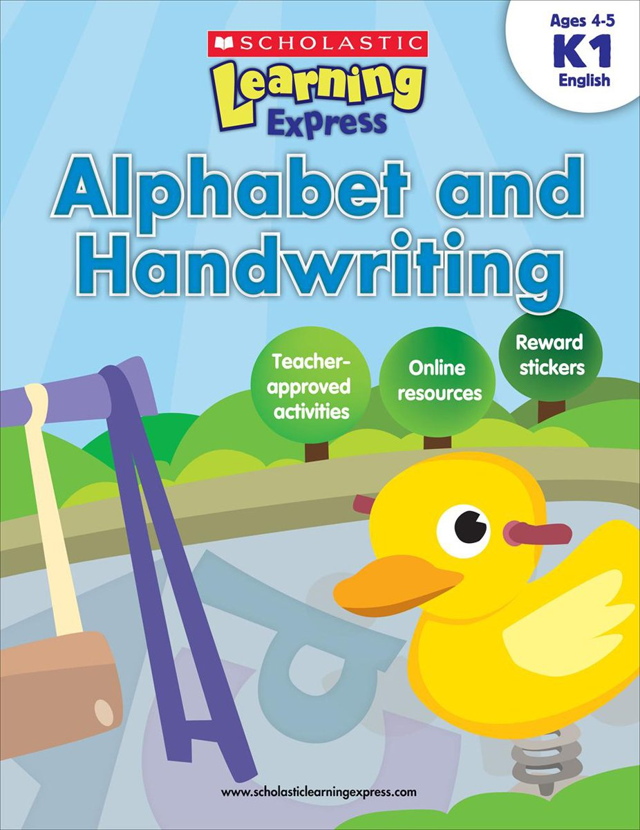Amazon.com: Scholastic Learning Express: Alphabet and Handwriting ...
