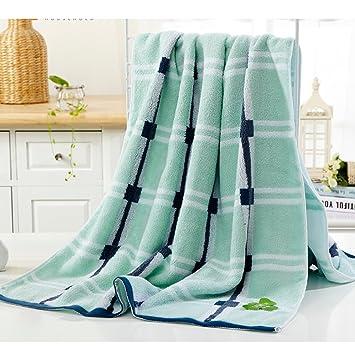 Toalla de baño suave Toallas de algodón Toalla de baño gruesa absorbente para adultos Toallas de ...