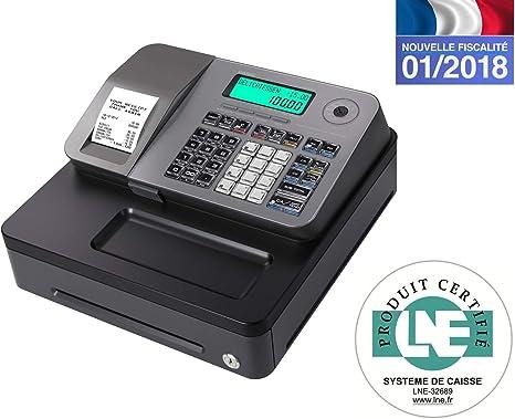 Casio se-s100sb-sr-fr caja registradora Plata: Amazon.es: Oficina y papelería