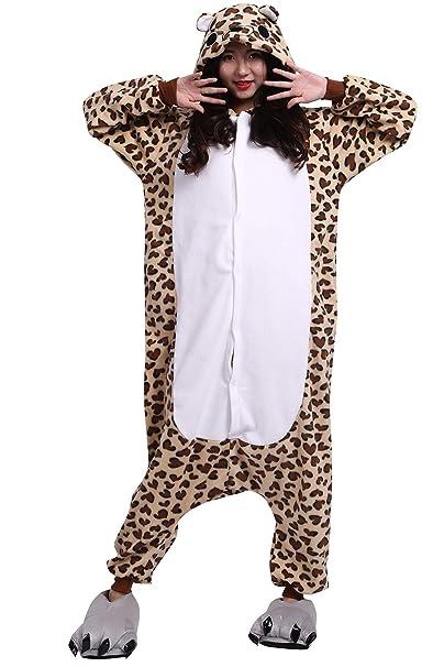 Pijama Animados Kigurumi Cosplay Oso Leopardo Animal para Adulto Unisex: Amazon.es: Ropa y accesorios