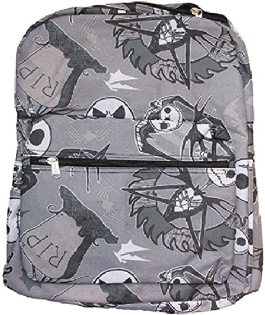Disney Nightmare Before Christmas Jack Skellington Backpack Light Gray