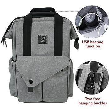 Amazon.com: Portador de Bebé y Pañales mochila de viaje w ...