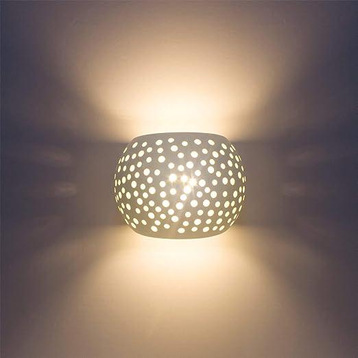Lámpara De Pared Moderna Encima De Un Encendedor Con 7w Led G9 Tipo De Tapa Protección Natural Para El Medio Ambiente Material De Yeso Lámparas De Montaje En Pared Amazon Es Iluminación