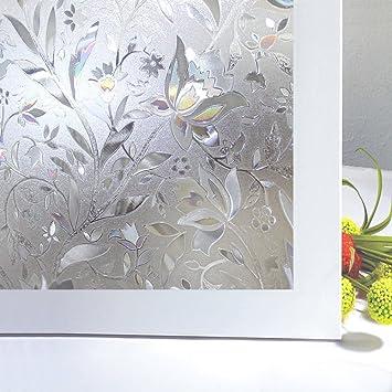 Amazon bloss vinyl non adhesive static cling free sliding glass bloss vinyl non adhesive static cling free sliding glass door window film roll 177 inches planetlyrics Choice Image