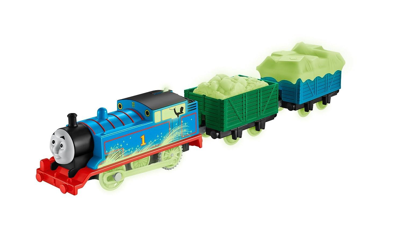 Amazon.com: Fisher-Price Thomas the Train TrackMaster Glow in Dark ...