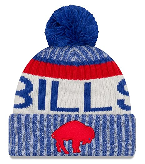 finest selection 21a70 a6dda Image Unavailable. Image not available for. Color  Buffalo Bills New Era  2017 NFL Sideline On Field  quot Historic quot  Sport Knit Hat