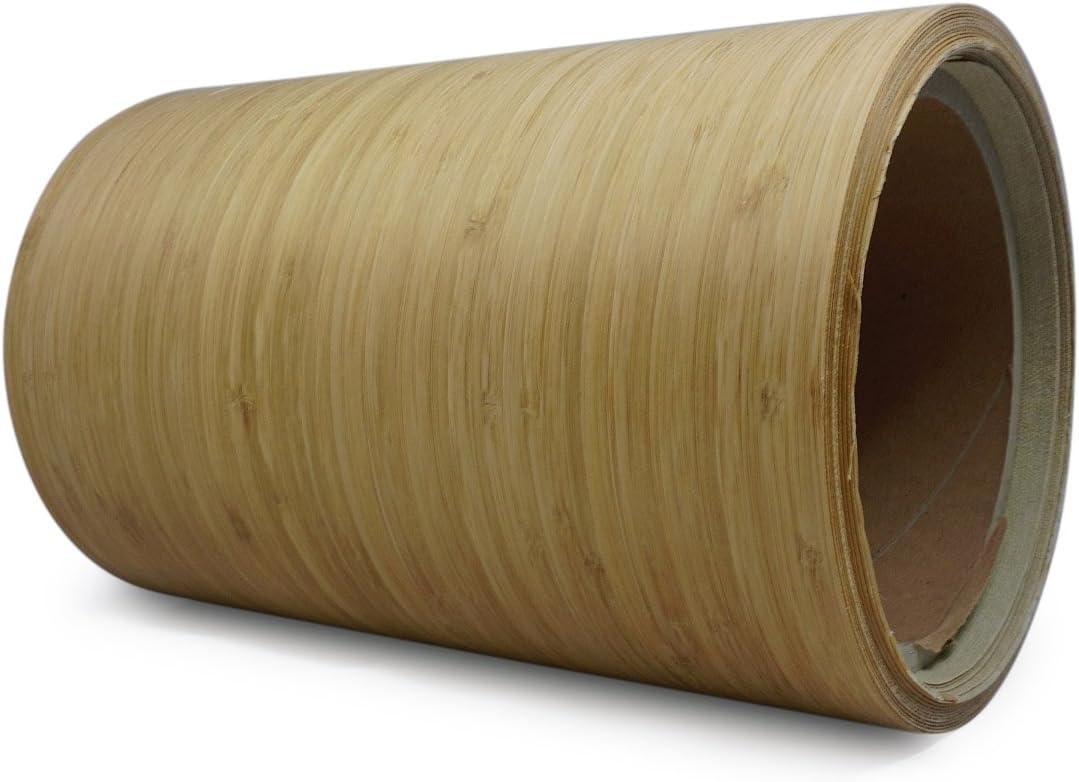 Nordje Echtholzfurnier mit Schmelzkleber 30cm Teak Nachbildung
