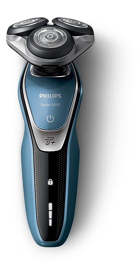 Philips Serie 5000 S5630/45 - Afeitadora Eléctrica para Hombre Rotativa, Perfilador Patillas, Naricero Estuche de Viaje: Amazon.es: Salud y cuidado personal