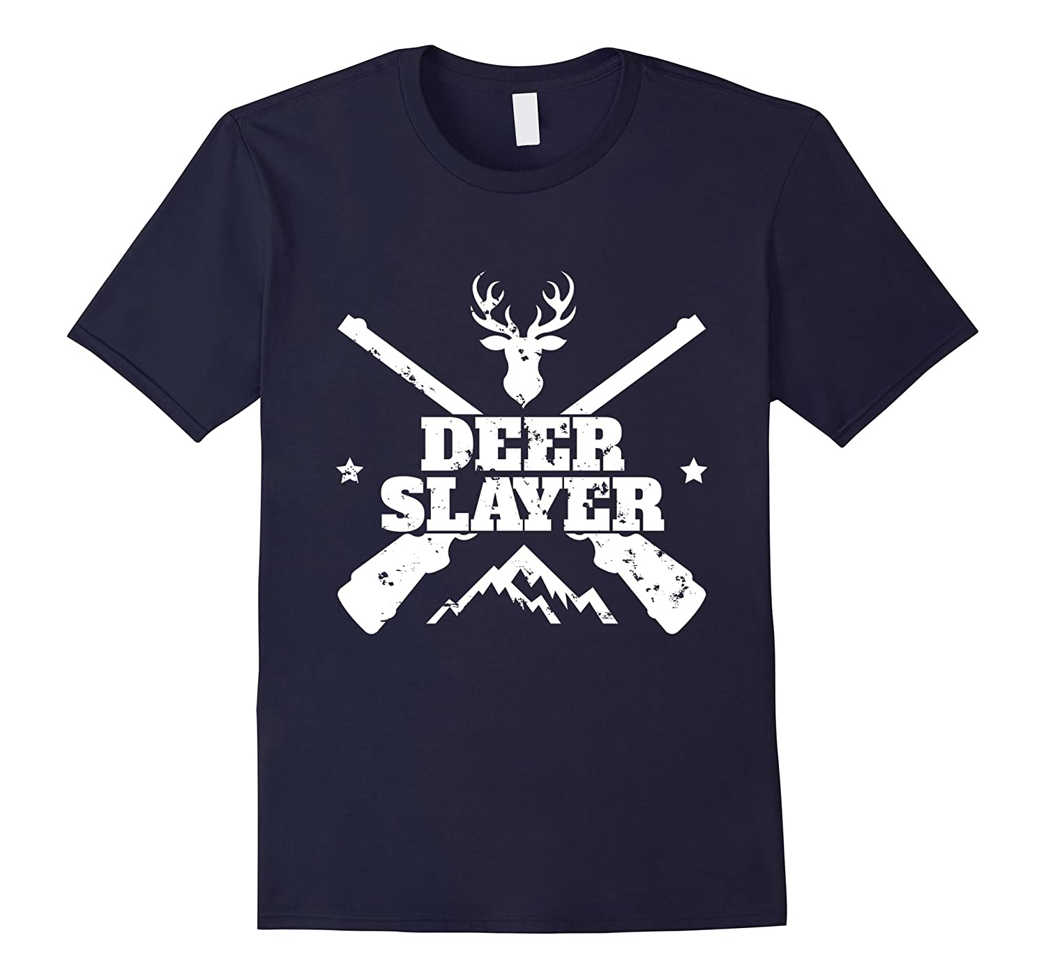 Hunt Deer Slayer Hunting Hunter Deer Killer Shirt Buck-FL