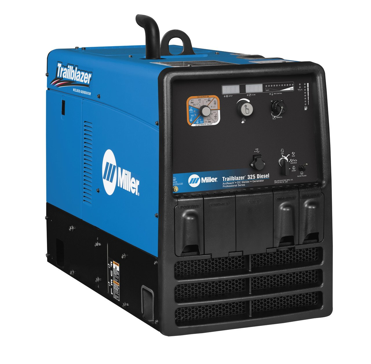 Miller Trailblazer 325 Diesel Welder w/GFCI, Excel Power & ArcReach 907755003
