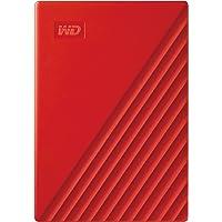 WD My Passport externe Festplatte 2 TB (mobiler Speicher, schlankes Design, WD Discovery Software, automatische Backups…