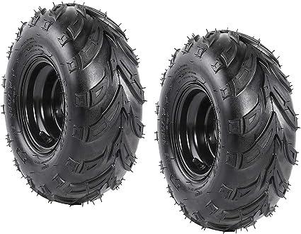 145//70-6 Front Rear Wheel Rim Tire For ATV Tyre Quad GoKart 4 Wheelers
