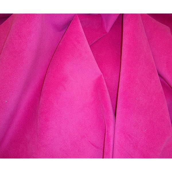 Flocking Velvet Waterproof Felt with PVC Backing Black Upholstery Fabric 55
