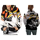 Can Am Spyder Graphic Print Sublimation Woman Top T-shirt sizes: S to 3XL