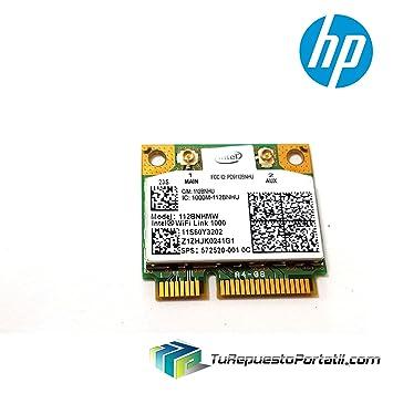 TRP Tarjeta WiFi 112BNHMW HP Pavilion DV6-2157 Wireless Card ...