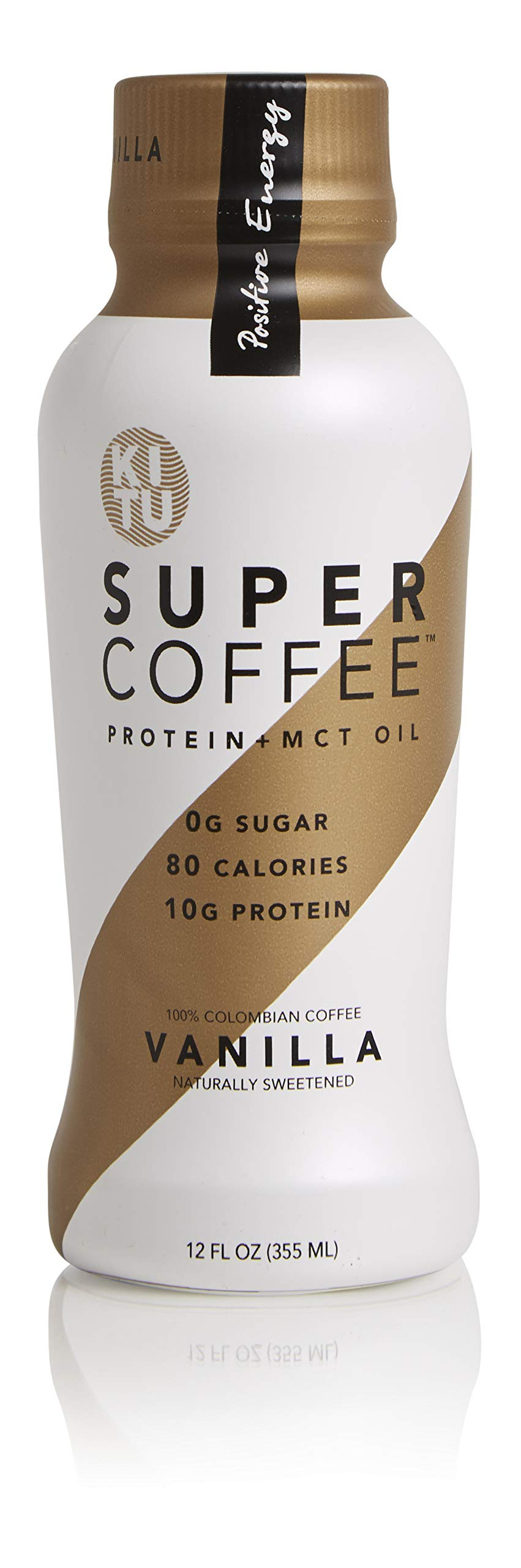 Kitu by Sunniva Super Coffee Vanilla Sugar-Free Formula, 10g Protein, Keto Approved, Lactose Free, Soy Free, Gluten Free, Pack of 24 by SUNNIVA SUPER COFFEE