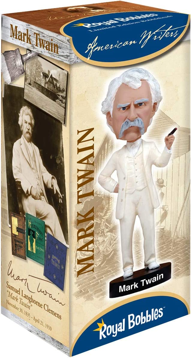 Royal Bobbles Mark Twain Bobblehead