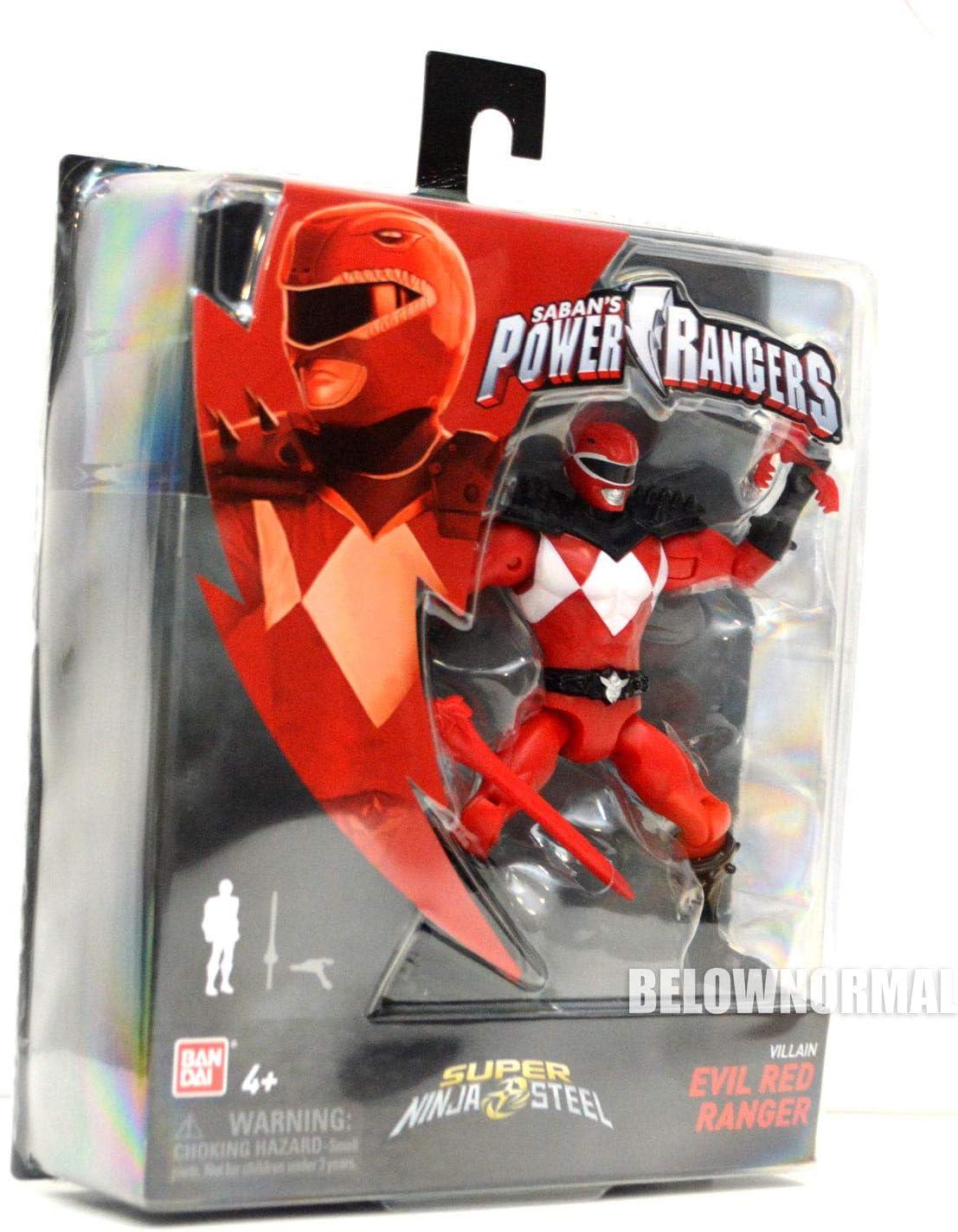 Amazon.com: Power Rangers Super Ninja - Figura de acción de ...
