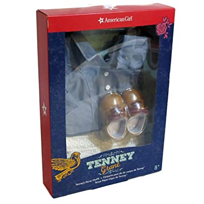 American Girl Tenney's Picnic Outfit for 18-inch Dolls: Toys & Games