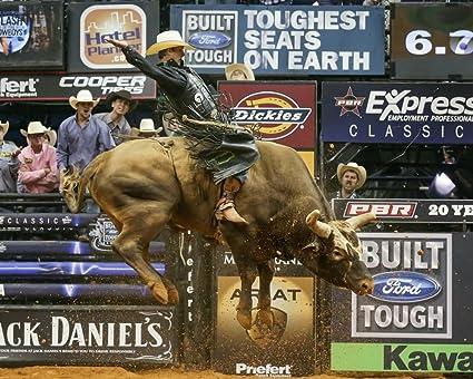 J. B. Mauney/Professional Bull Rider 8 x 10/8x10 GLOSSY Photo Picture IMAGE #