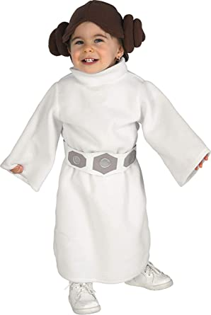 Amazon Com Rubie S Costume Star Wars Princess Leia Romper White