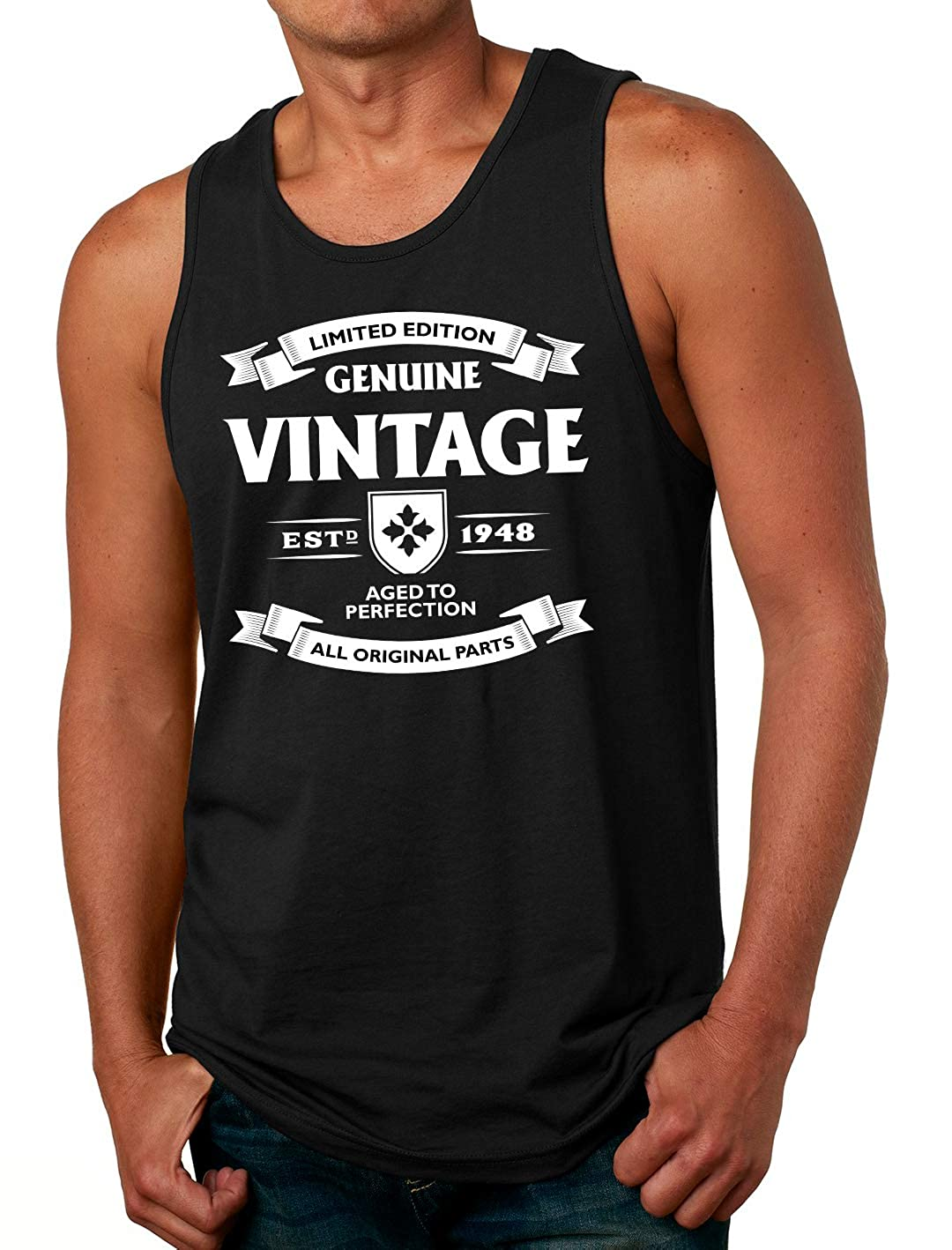 Tenacitee Mens Aged to Perfection 1948 T-Shirt