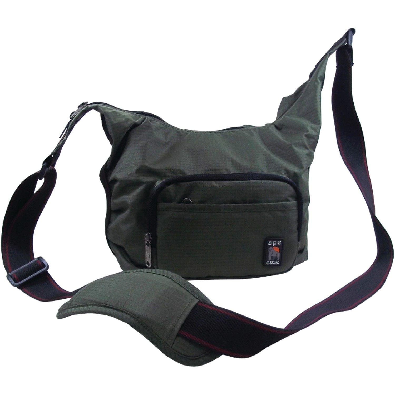 Ape case messenger bag camera case high visibility interior Green (AC520G)