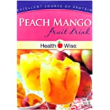 Healthwise - Peach Mango Diet Fruit Drink | Healthy Protein Drink, Appetite Suppressant | High Protein, Fat Free, Low Carb, L