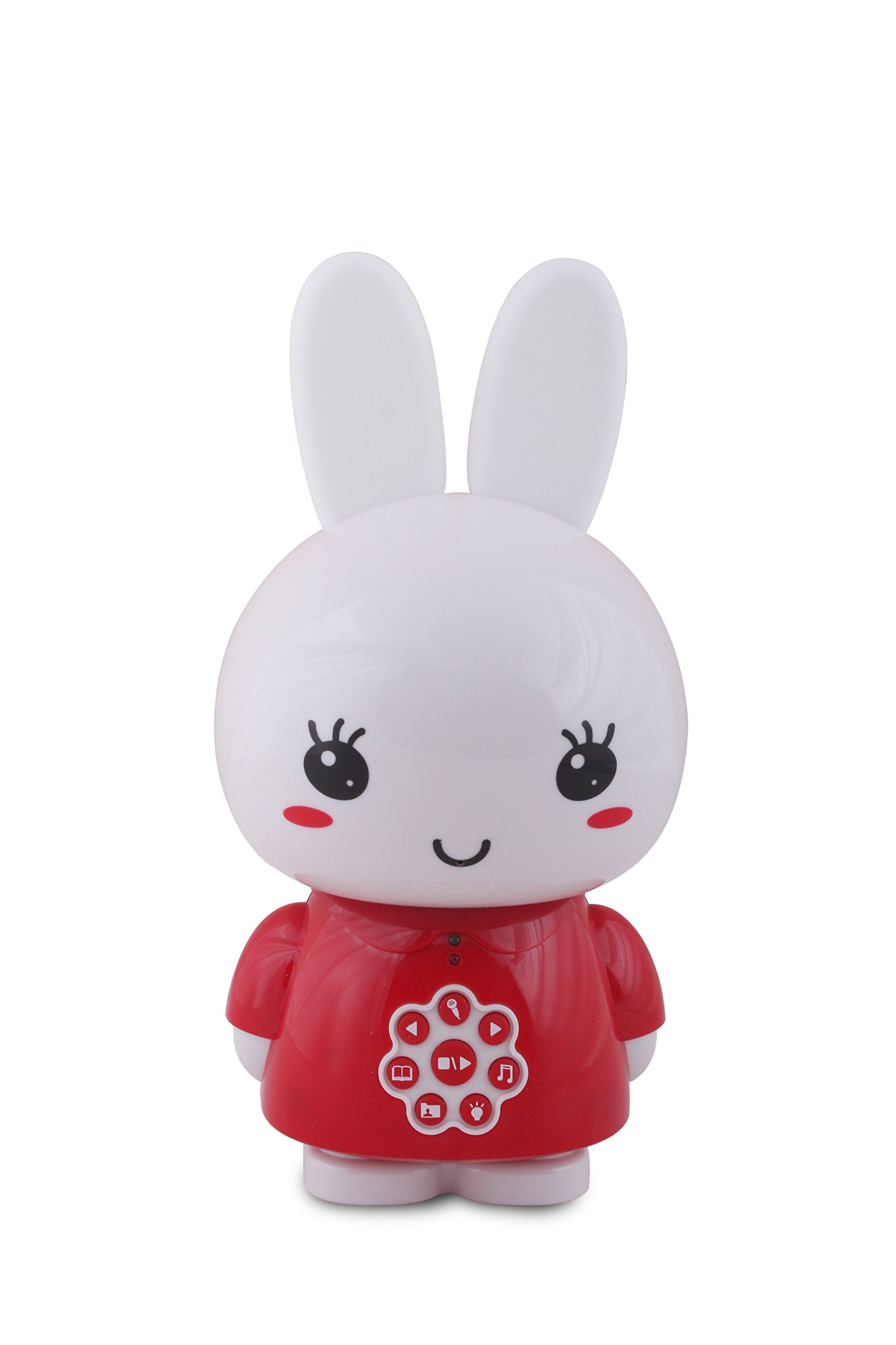 Alilo G6 Honey Bunny 4GB Children's Digital Player, Red