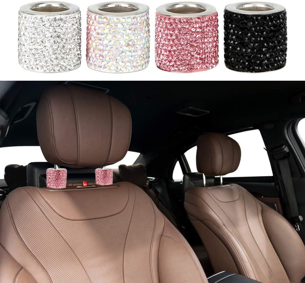 1 Pcs iTimo Car Seat Headrest Collar Decoration Ring Rhinestone