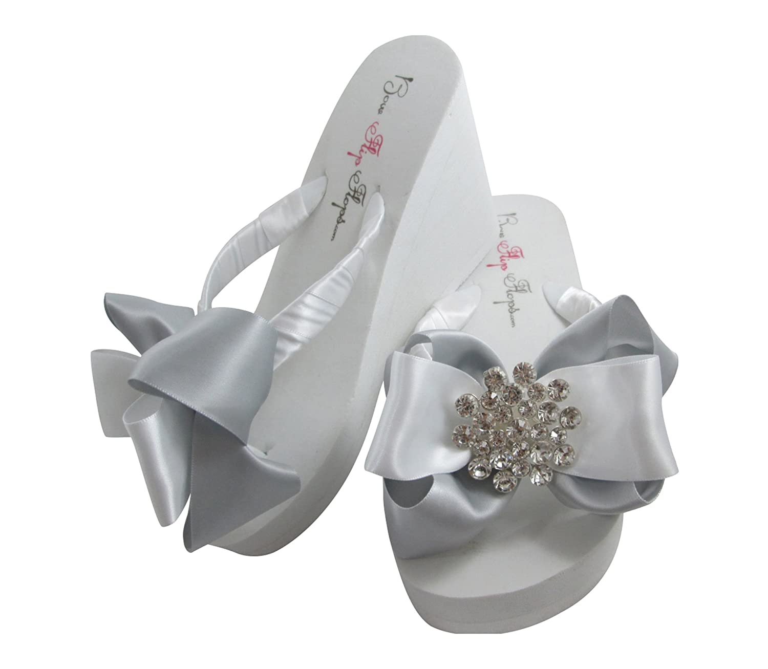 f591b72a12133 Silver Wedge or Flat Heeled Sandals for Beach Wedding