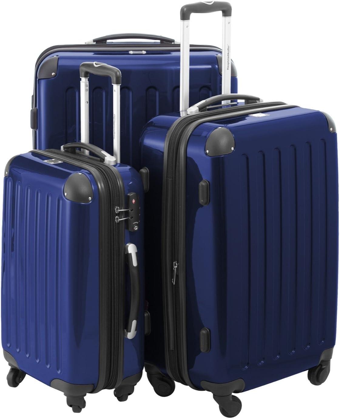 Hauptstadtkoffer Luggage Set, Dark Blue