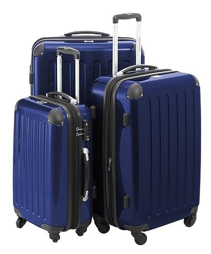 Amazon.com: Hauptstadtkoffer juego de maletas rígidas ...