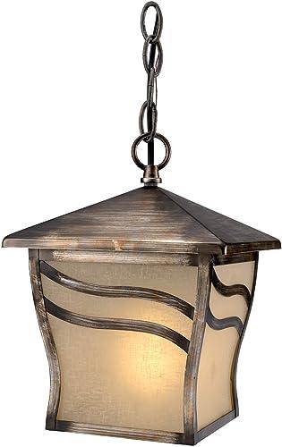 Hardware House H10-3299 Monaco Outdoor Fixture Hanging Light, Parisian Bronze
