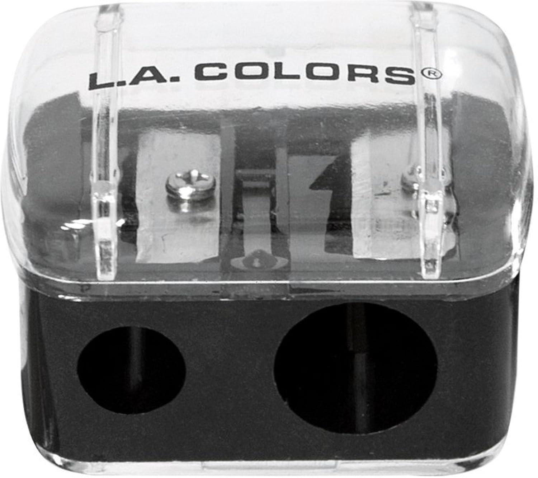 L.A. Colors Dual Pencil Sharpener 1 ea (Pack of 3)