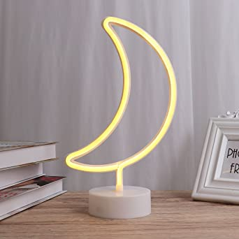 Ledmomo Lune Lampe Lumière Nuit Table Led Chevet Néon De jVGqSUzMLp