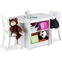 Relaxdays Mobiliario Infantil Albus con Espacio de almacenaje