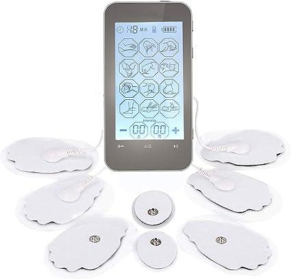 El mejor aparato electromagnético de masaje, mini portátil con 12 ...