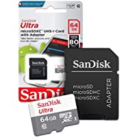 Cartão de Memória Classe 10 64GB Sandisk Ultra 80MB