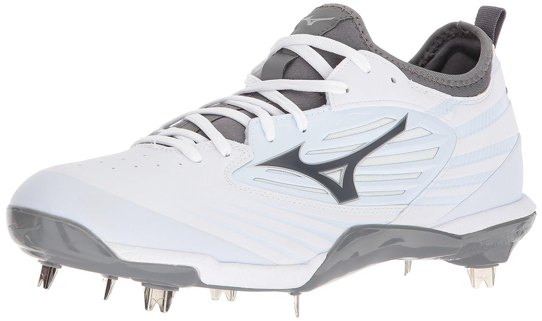 Mizuno (MIZD9) メンズ Mizuno Epiq Baseball Metal Cleat B071ZZDLHB 13 D US|ホワイト/ホワイト ホワイト/ホワイト 13 D US