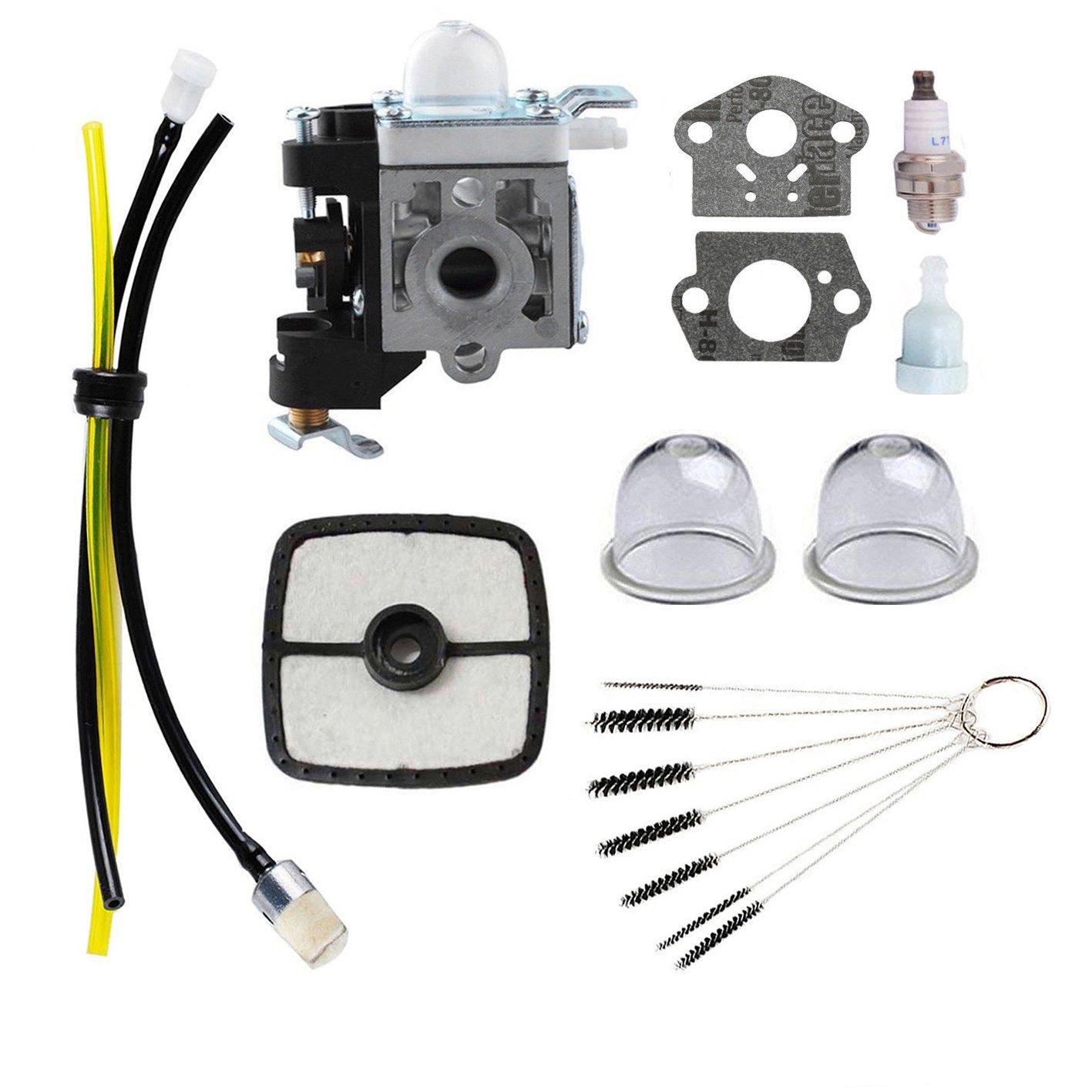 Podoy PB-250 Carburetor Blower for ECHO Parts Tune Up Kit Maintenance Air Filter Fuel PB-250LN A021003661 ES-250 Handheld Power Blower