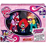 My Little Pony Pony Potenza Exclusive 3 Pack - Twilight Sparkle, Fluttershy, e Spike IL DRAGO