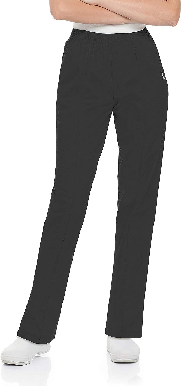 Details about  /Landau Classic Drawstring Scrub Pants Womens Medium Blue 8512